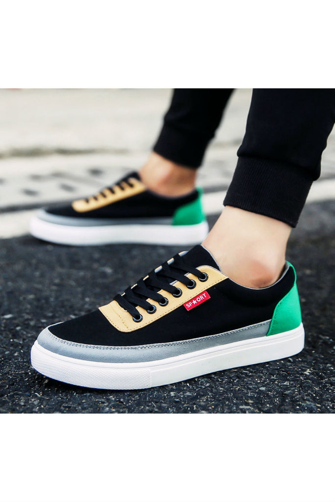 Casual Color Block Sneakers