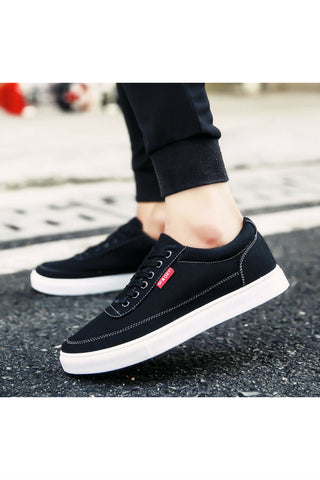 Casual Black Sneakers