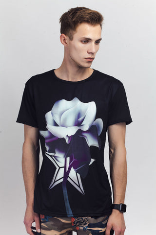 Rose Printed T-Shirt