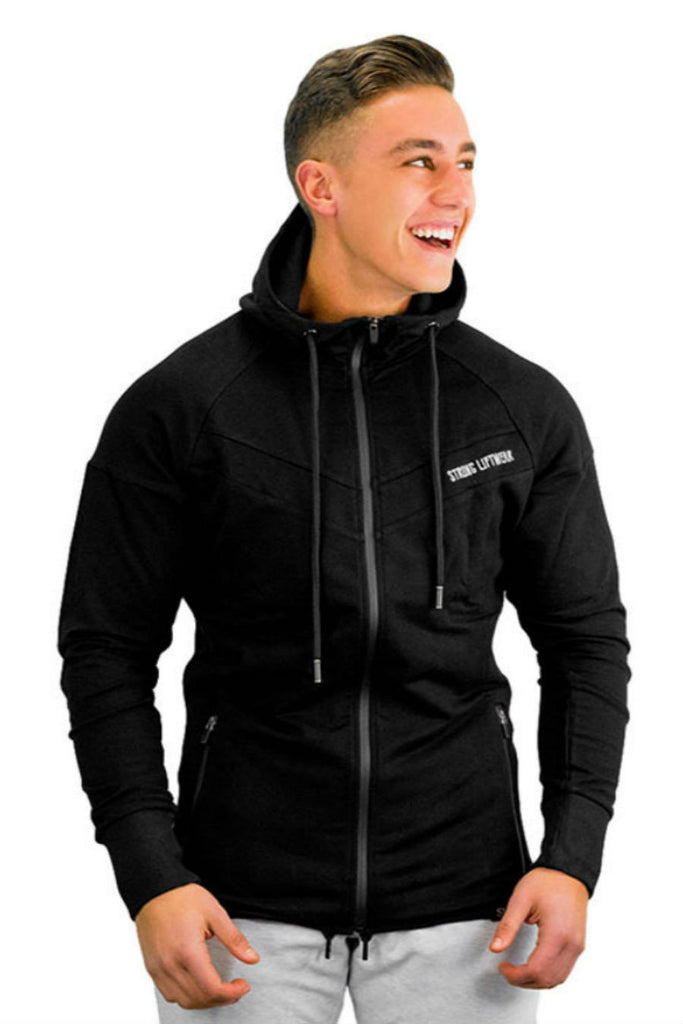 Sport Zip Hooded Jacket