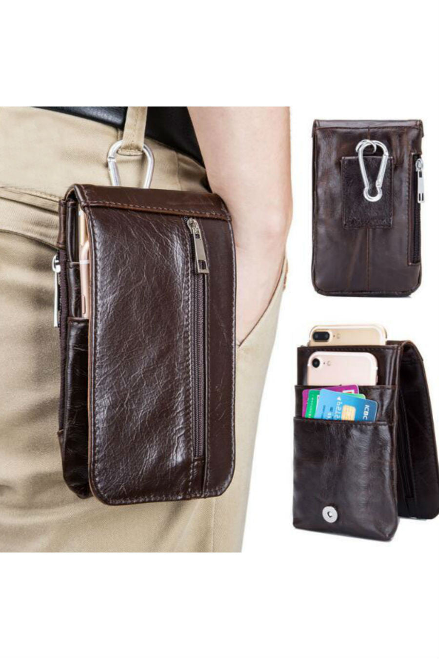 Men's Fanny Pack Cellphone Bag