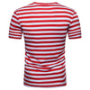 Round-neck Striped T-shirt