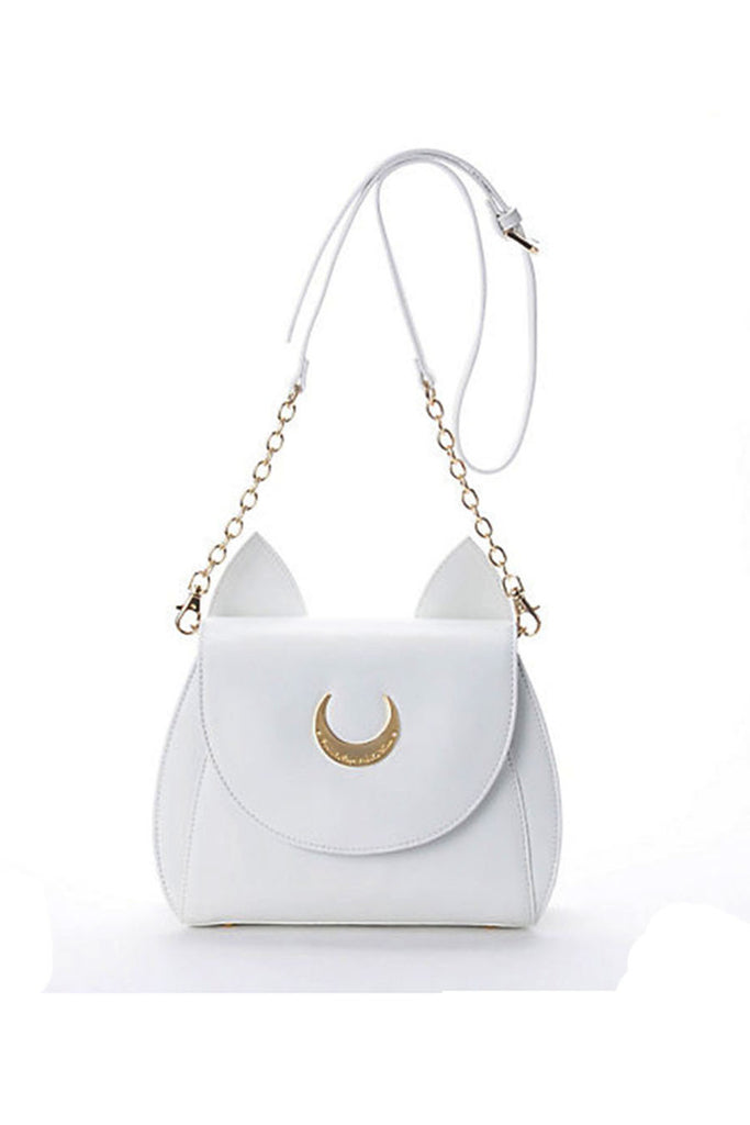 🌸 White Sailor Moon Luna Bag