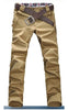 Man Slim Fit Light Brown Pants