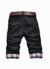 Man Slim Fit Black Fifth Shorts