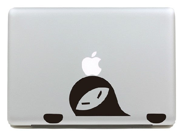 Macbook Ninja Decal Sticker. Art Decals By Moooh!!
