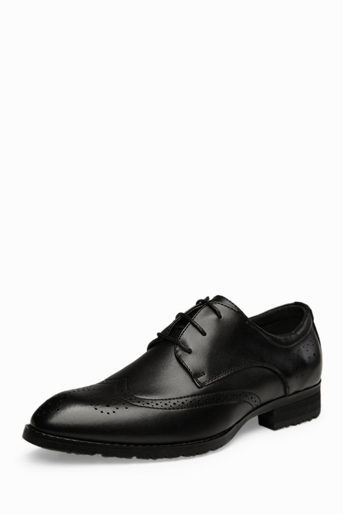 Brogue Classic Shoes In Black