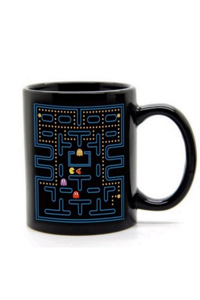 Pac Man Heat Chaning Mug