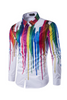 Multicolor Painting White Shirt