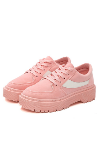 Korean Style Platform Sneakers