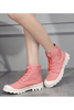 Pink High Top Sneakers