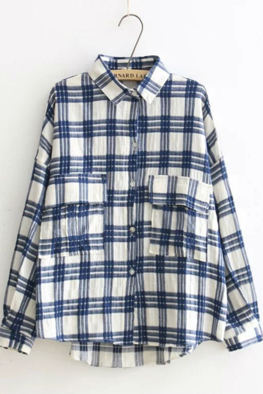 Vintage Plaid Linen Shirt
