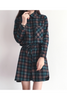 Plaid Shirt Dress