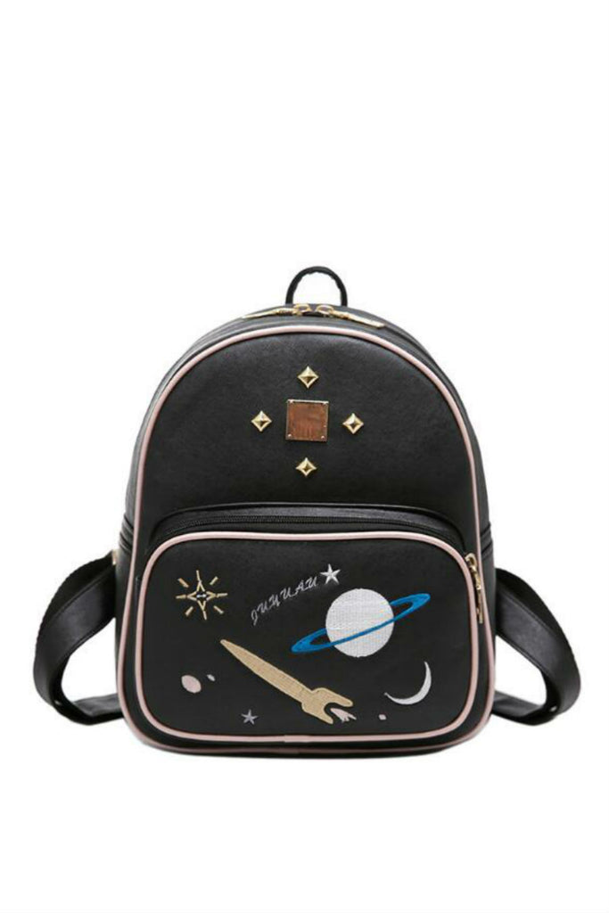 Planet Studded Backpack