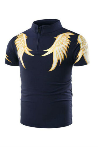Wings Prints Polo T-shirt