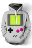 Nintendo 3D Hooded Sweater