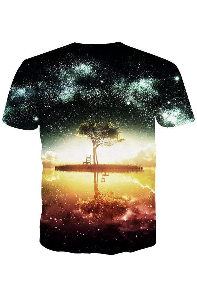 African Sunset 3D Printed T-shirt