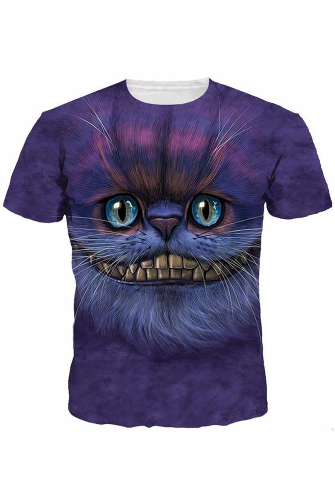 Gatto Alieno 3D Printed T-shirt