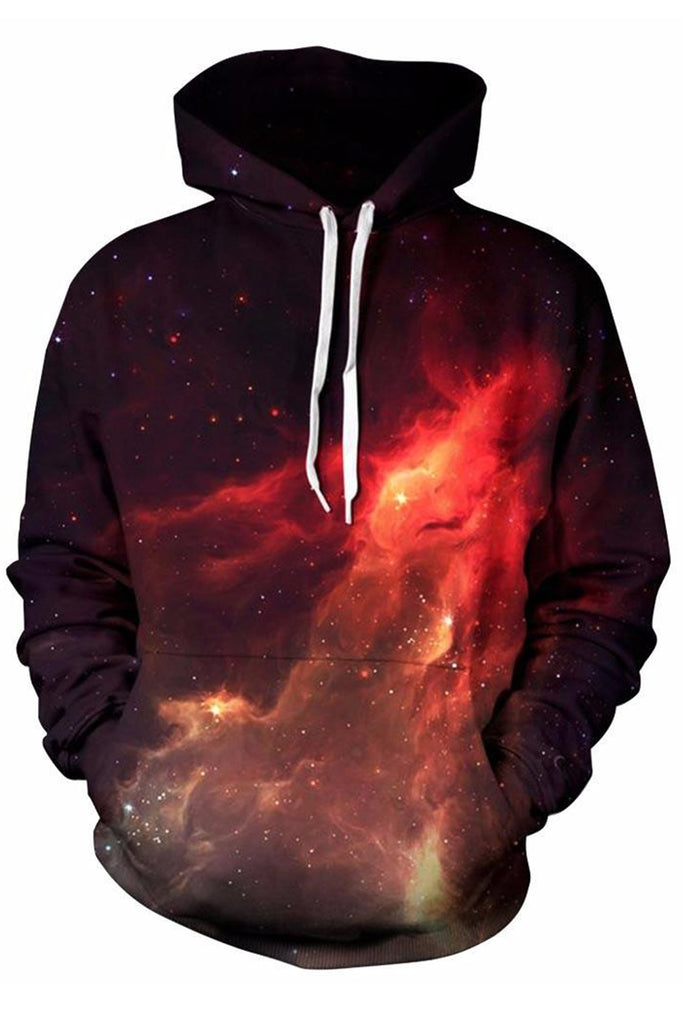 Fired Universe 3D Hooded Sweater
