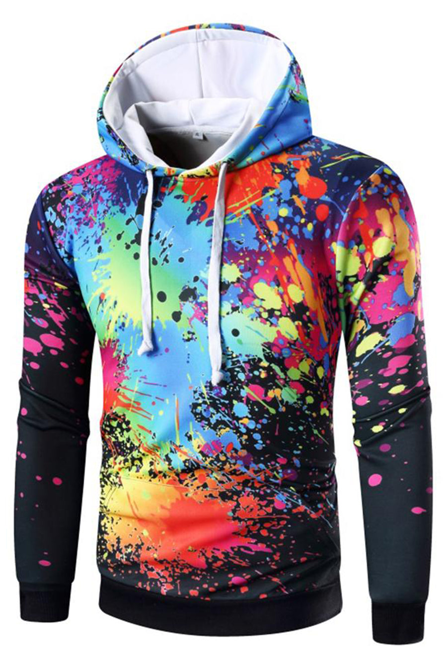 Inks And Inks 3D Hooded Sweater