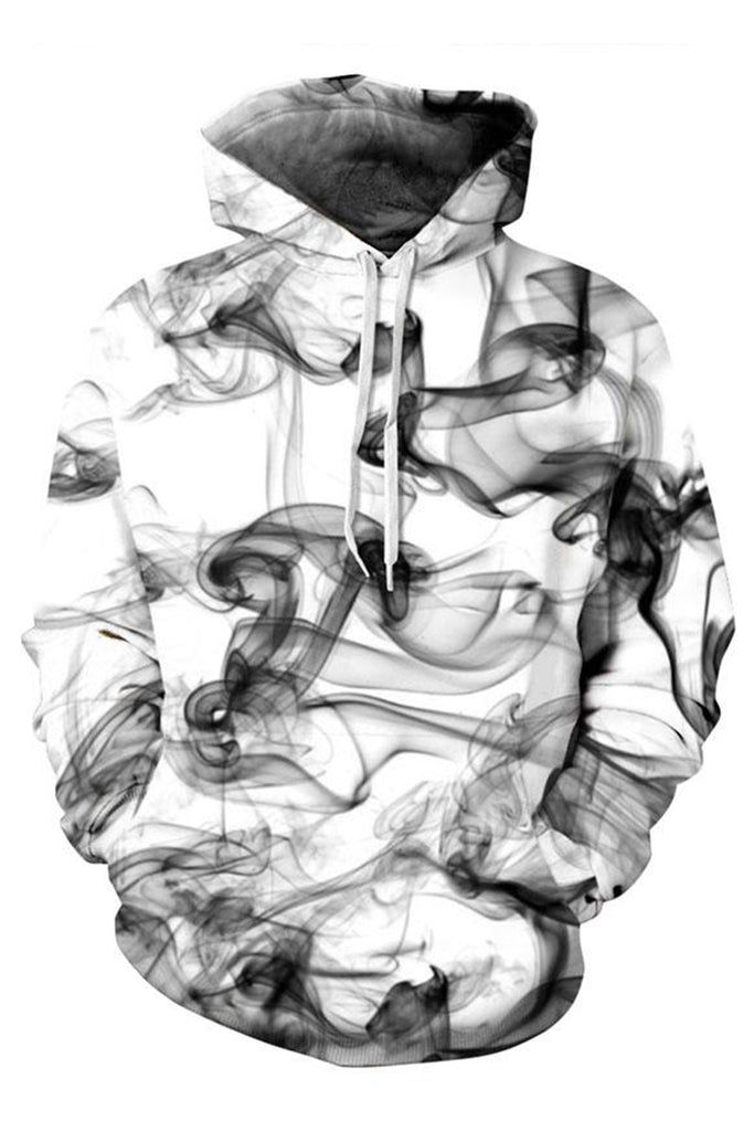 Smoked 3D Hooded Sweater