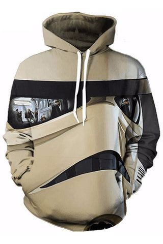 Stormtrooper 3D Hooded Sweater