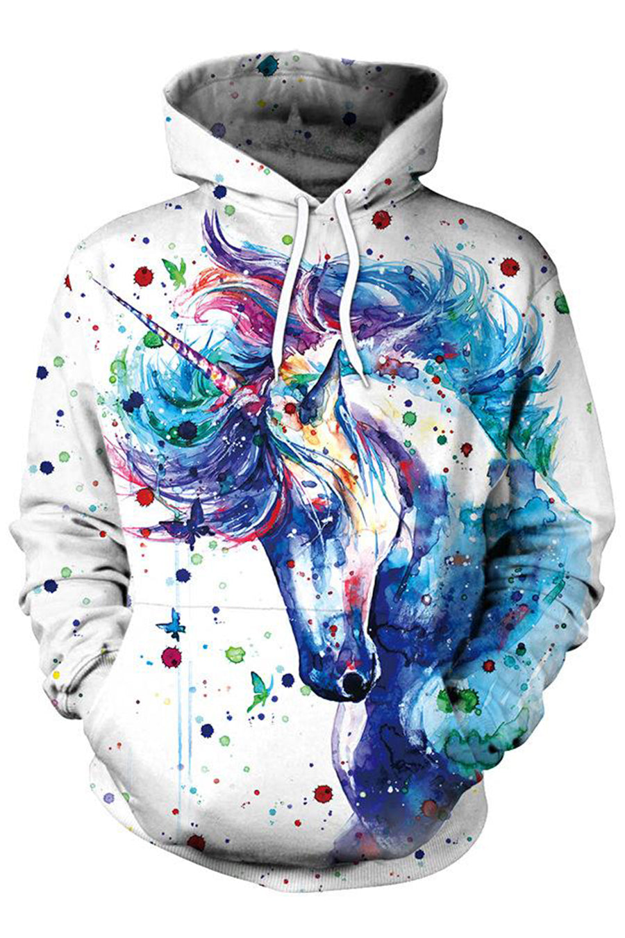 Inked Horse 3D Hooded Sweater