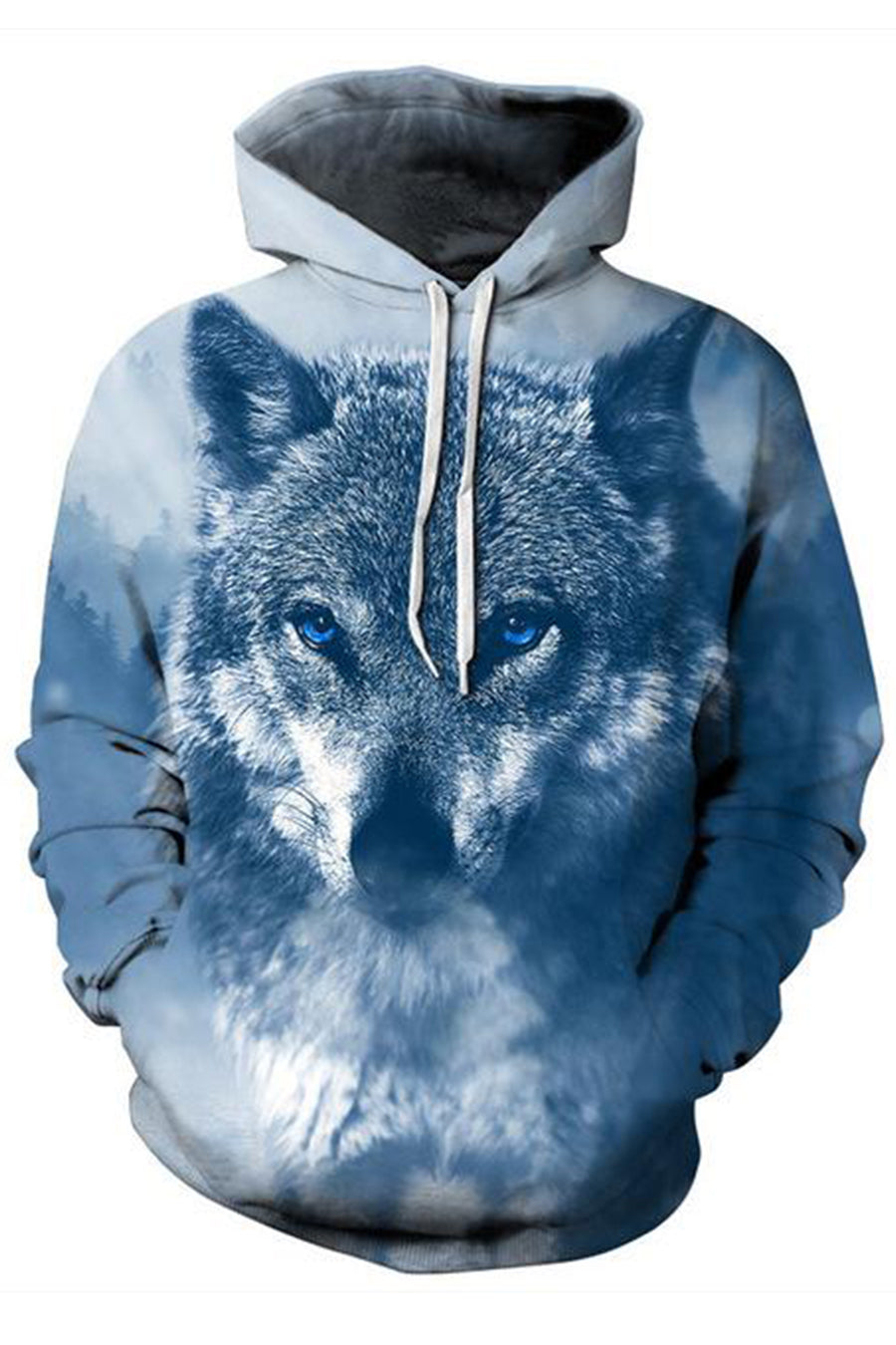 Wolf Of The Snow 3D Hoodie
