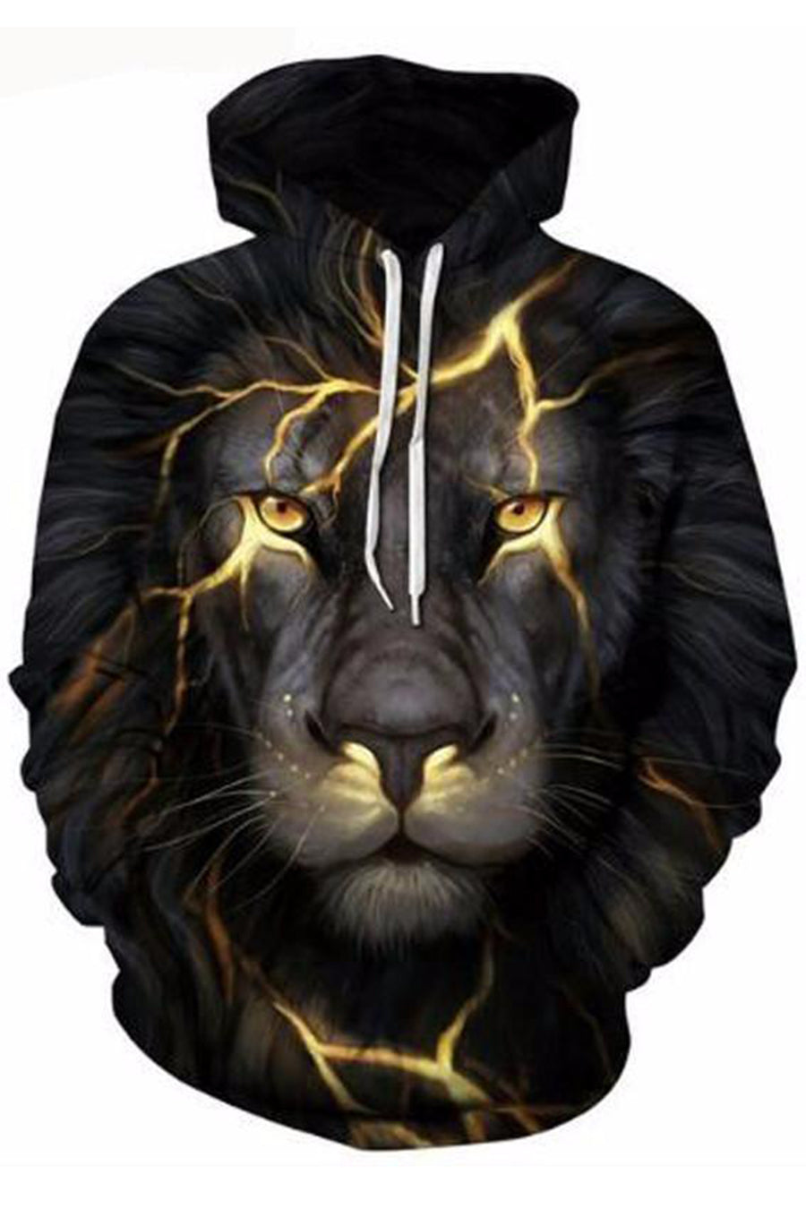 Fire Lion 3D Hooded Sweater