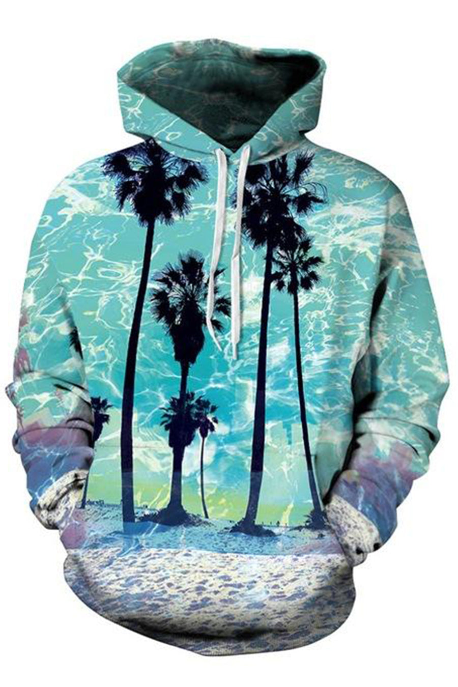 Palms 3D Hooded Sweater