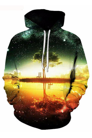 African Sunset 3D Hoodie