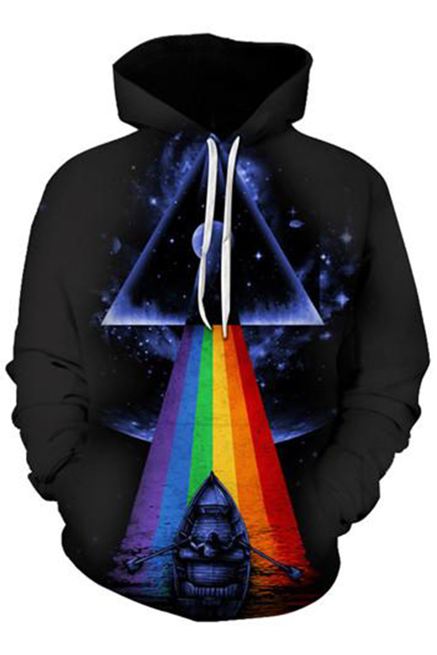 RGB 3D Hooded Sweater