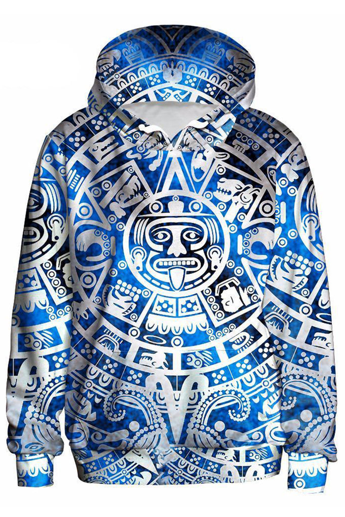 Aztec 3D Hooded Sweater