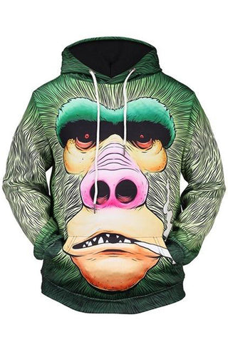 Ape 3D Hooded Sweater