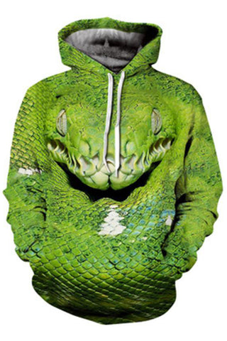 Cobra 3D Hooded Sweater