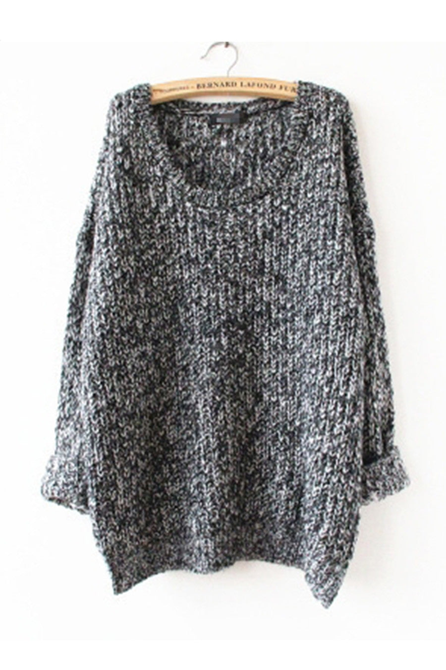 Vintage Gray Cosy Knit Sweater - Vintage Style Sweater