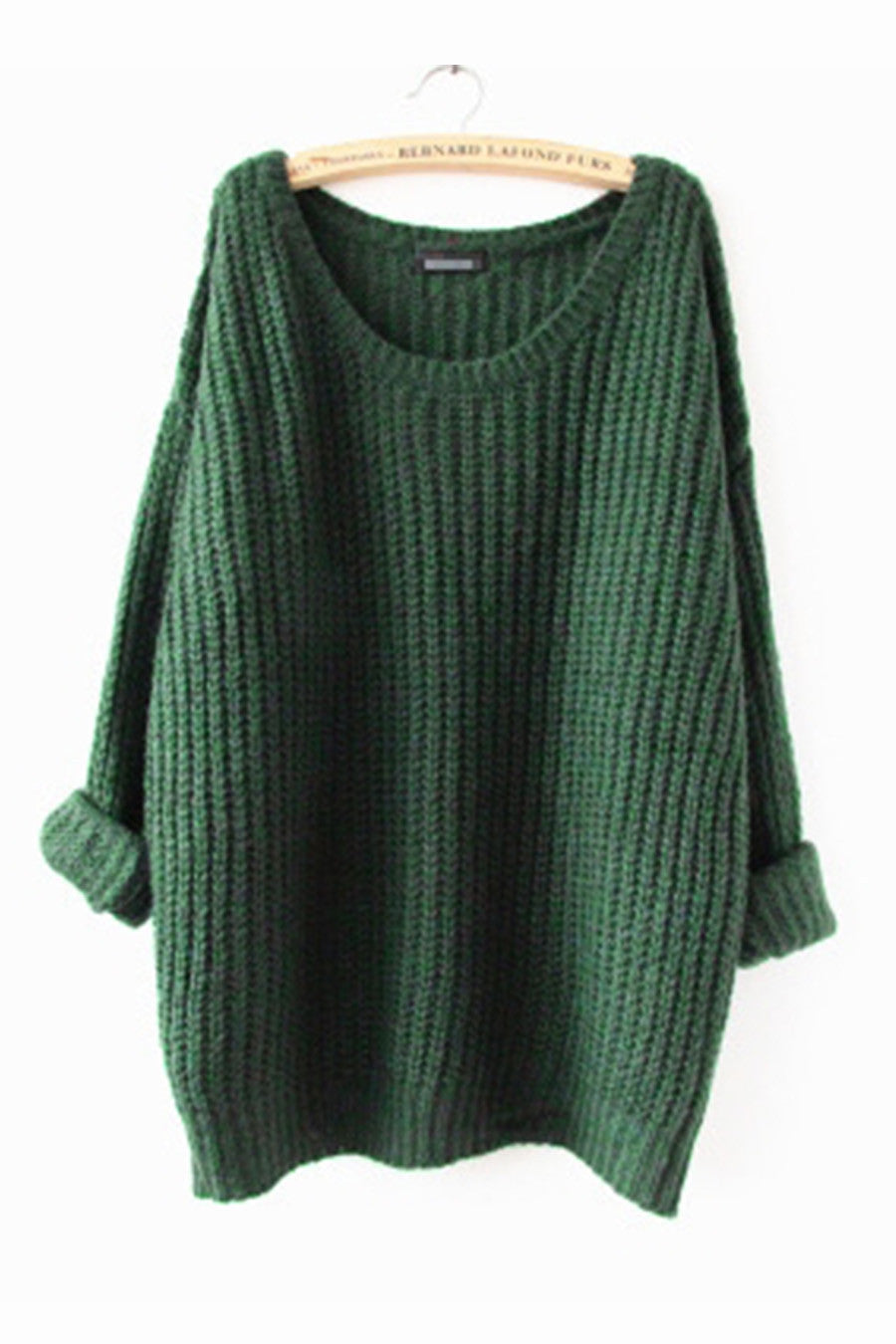 Green Cosy Long Sweater