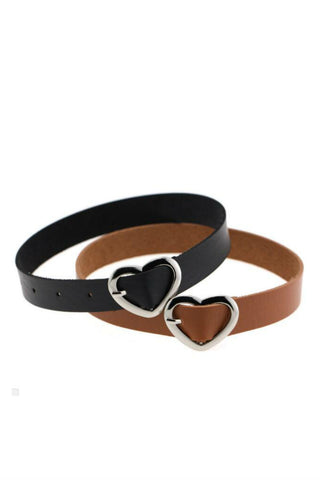 5pcs Heart Buckle Punk Choker