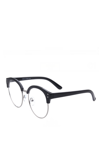 Retro Round Frame Glasses