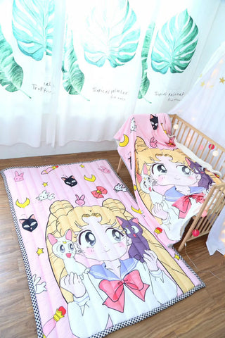 🌠 Sailor Moon Blanket & Rug