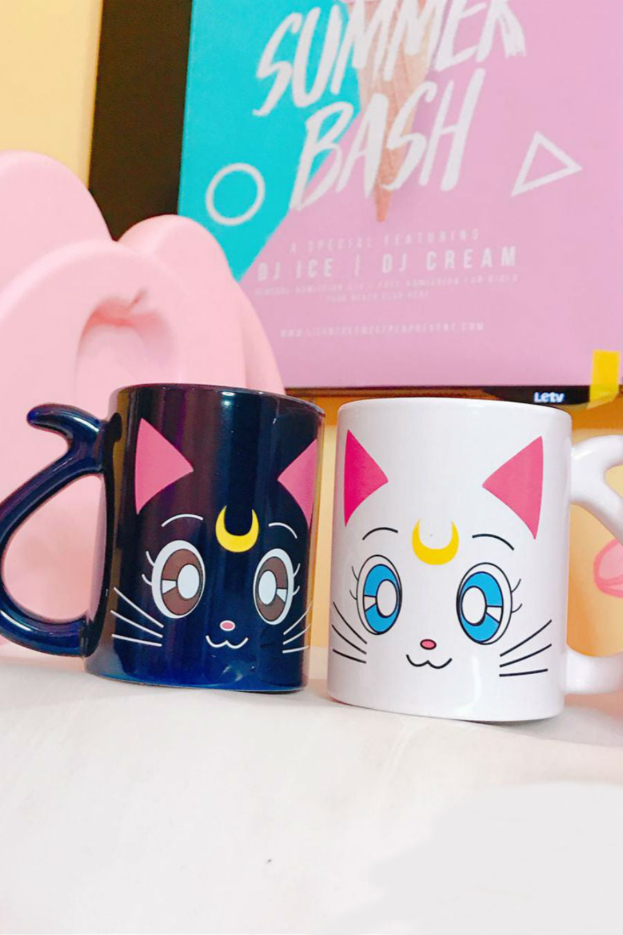Luna Artemis Couples Mug