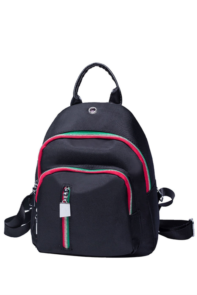 90s Zippered Retro Backpack