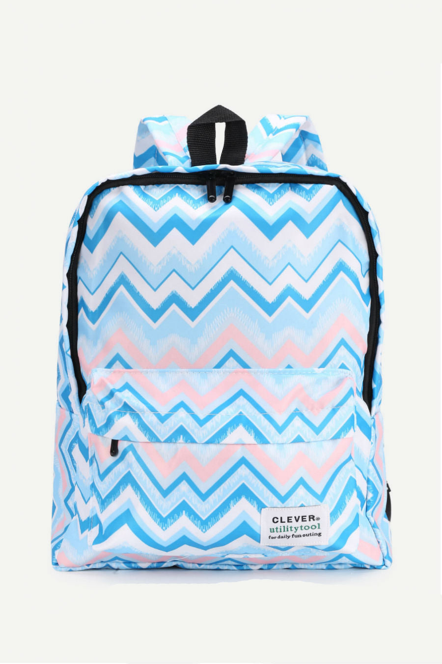 Chevron Print Backpack