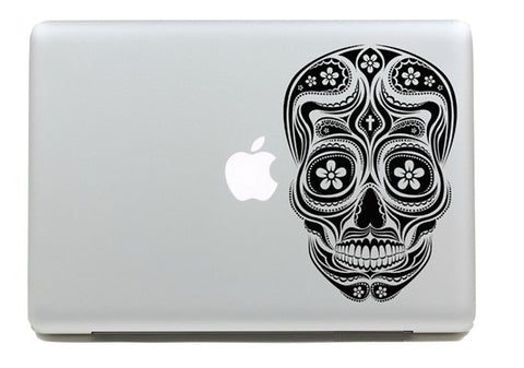 Macbook Skull Decal Sticker. Art Decals By Moooh!!