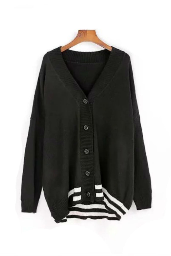 Button-up College Cardigan