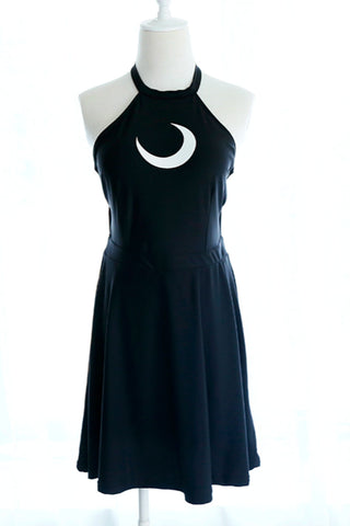 Demonia Punk Halter Dress