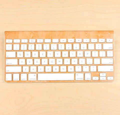 Macbook Cherry Wood Decal Sticker For Keyboard. Art Decals By Moooh!!