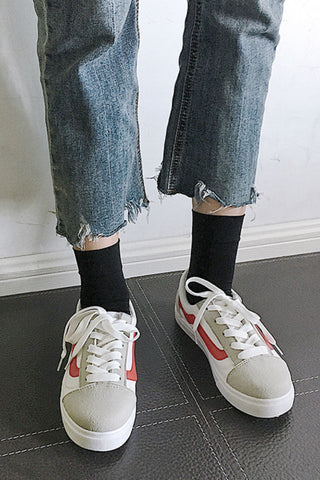 Vintage Lace Up Sneakers