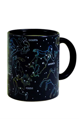 Black Constellation Mug