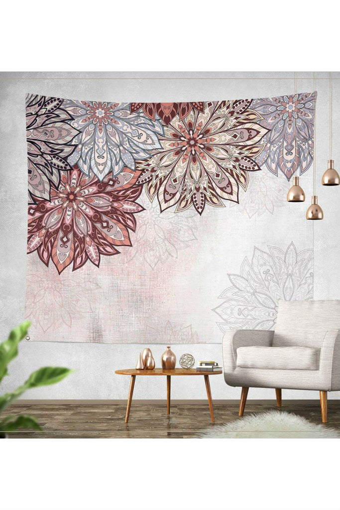 Boho Floral Wall Hanging